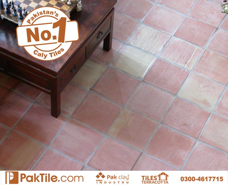 10 Pak Clay Tiles Best Quality Indoor Terracotta Flooring Tiles Designs in Pakistan Images.