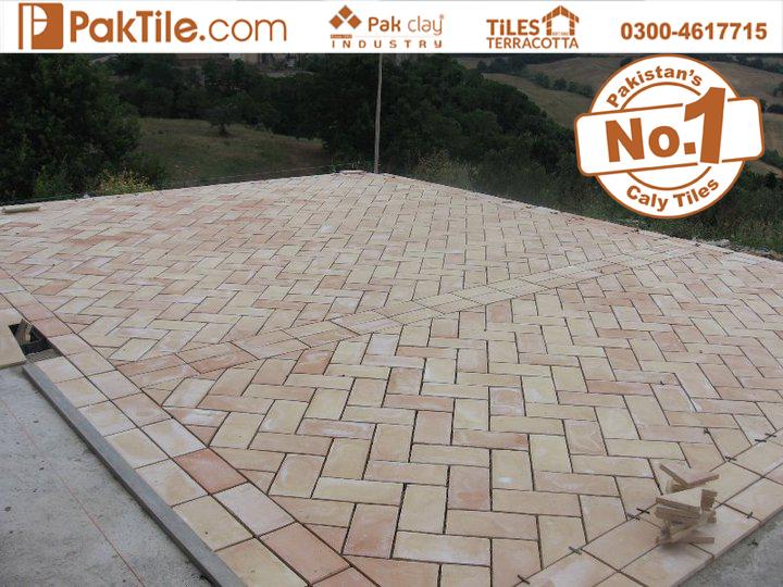 12 Pak Clay Tiles Exterior Garden Terracotta Floor Tiles Textures in Pakistan Images.