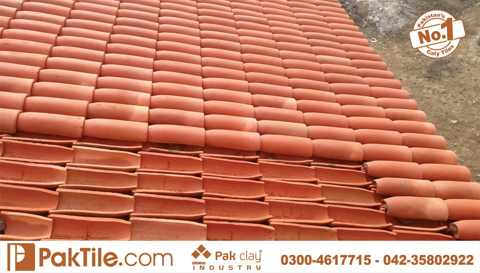 13 Khaprail Tiles in Lahore Pak Clay Roofing Materials in Pakistan Images.