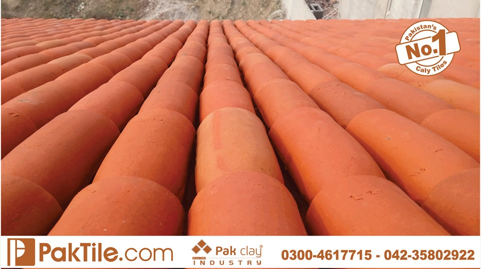 14 Khaprail Tiles in Lahore Pak Clay Roofing Products in Pakistan Images.