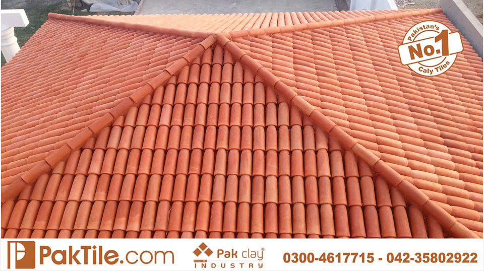 15 Khaprail Tiles in Lahore Glazed Color Roof Tiles in Pakistan Images.