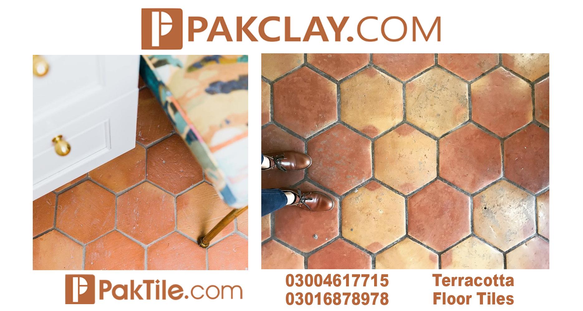 31 Terracotta Floor Tiles in Pakistan
