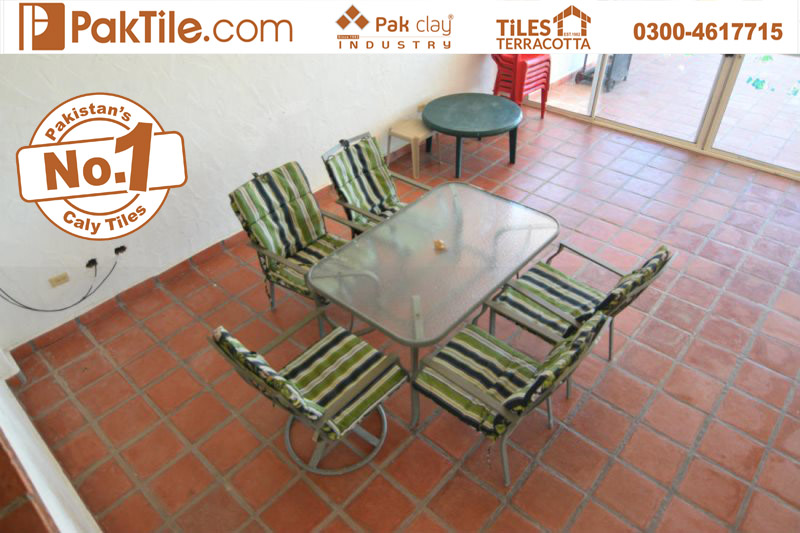 6 Pak Clay Tiles Faisalabad Living Room Red Bricks Floor Tiles in Pakistan Images.
