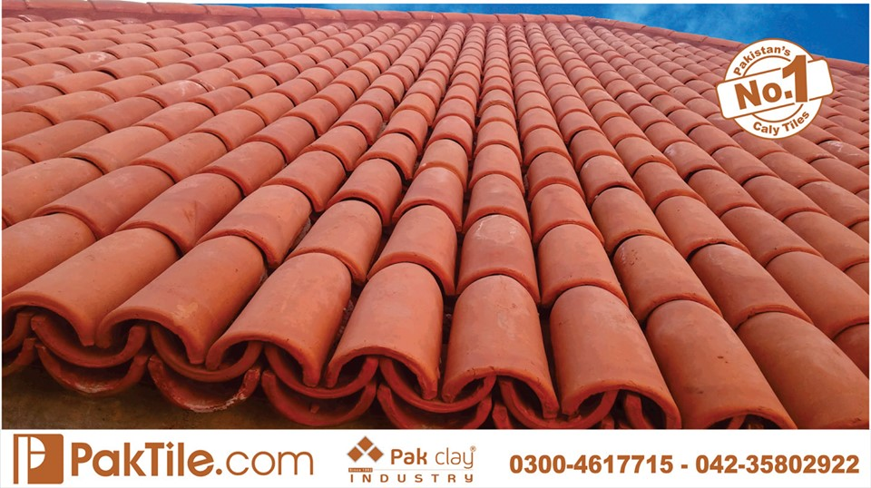 8 Khaprail Tiles in Lahore Pak Clay Roof Tiles Types in Pakistan Images.