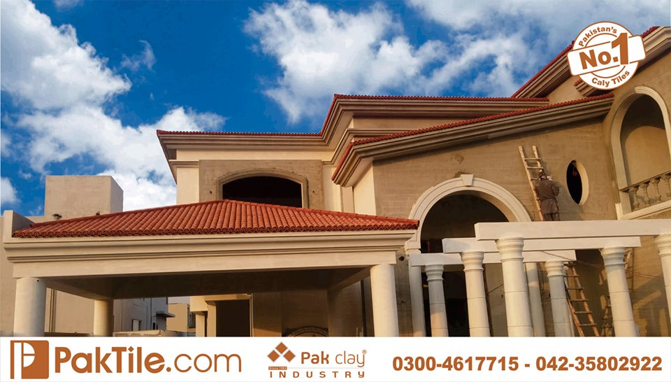9 Khaprail Tiles in Lahore Pak Clay Roof Tiles Texture in Pakistan Images.