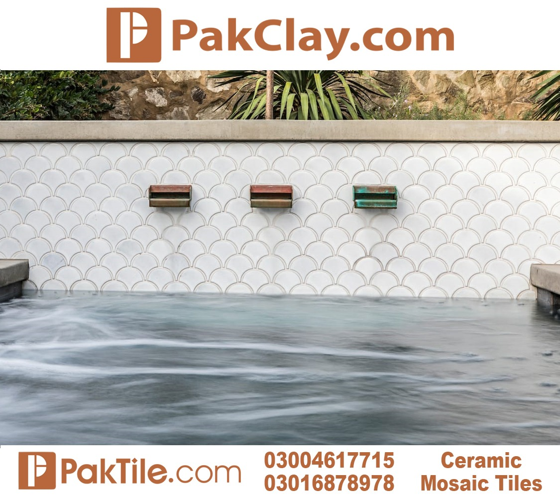Ceramic Mosaic Pool Tiles Design