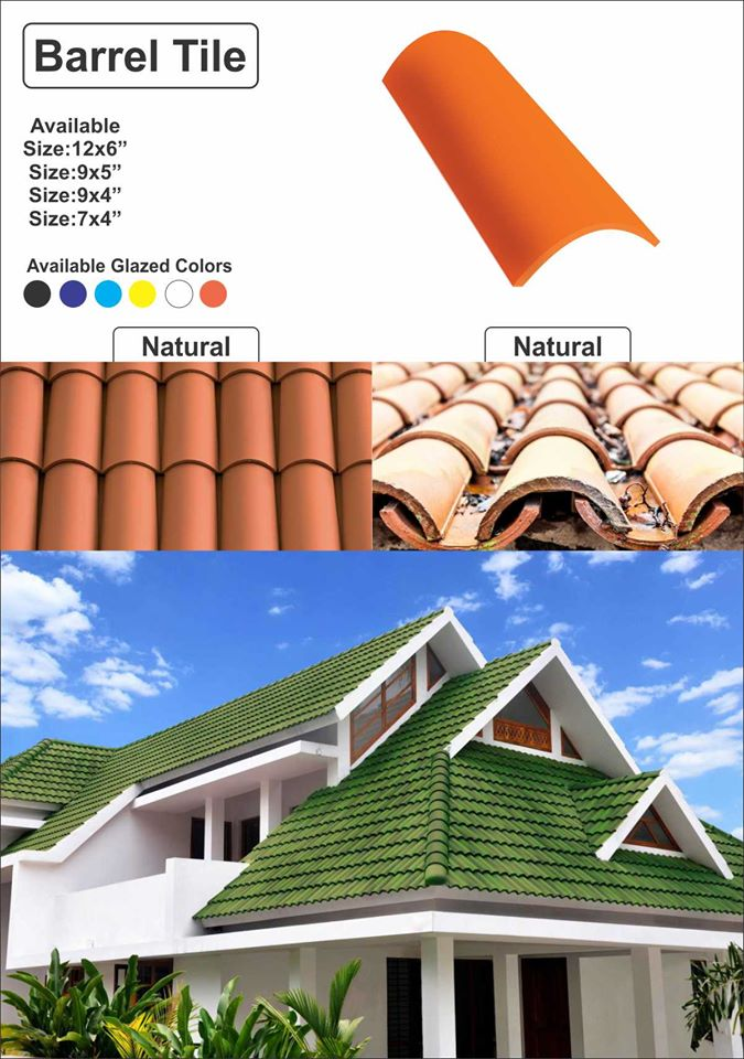 Finest Quality Clay Roof Tiles Pakistan