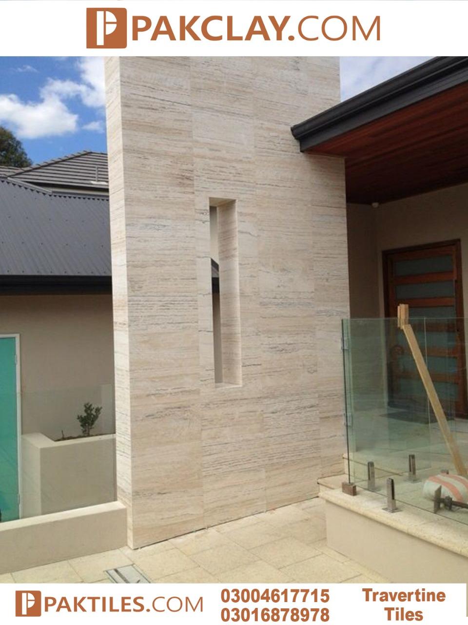 Outdo Travertine Marble Wall Cladding Tiles Design