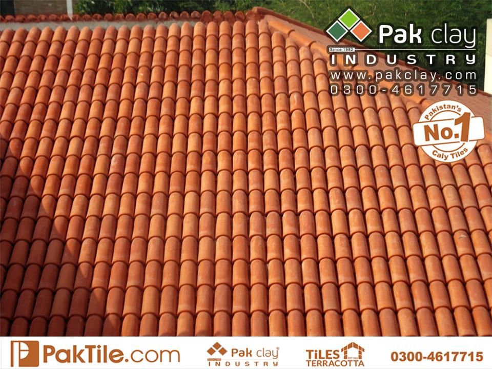 10 Khaprail Tiles in Karachi Unglazed Clay Roof Tiles in Pakistan Images.