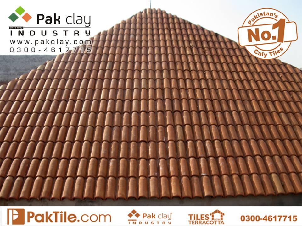 12 Khaprail Tiles in Karachi Unglazed Roof Tiles Price in Pakistan Images.