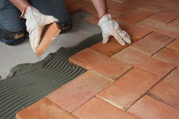 14 Pak Clay Tiles Installation Terracotta Flooring Tiles Design How to Lay Floor Tiles on Concrete Images