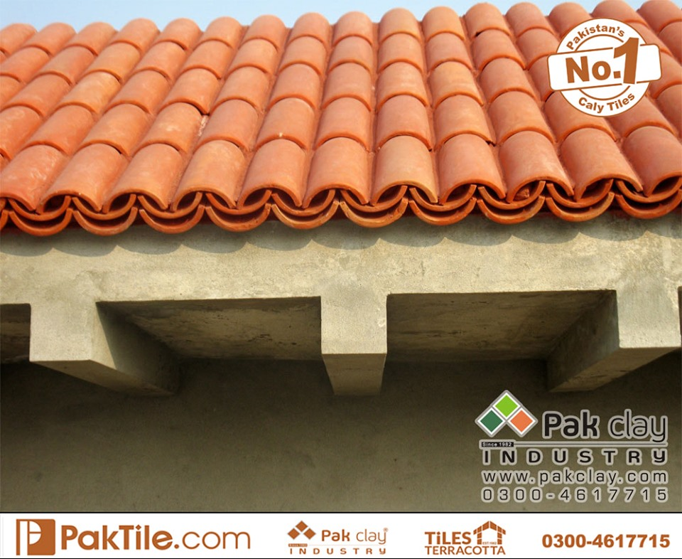 19 Khaprail Tiles in Karachi Red Clay Roof Tiles in Pakistan Images.