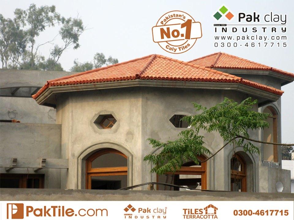 26 Khaprail Tiles in Karachi Terracotta Roof Tiles Khaprail House Red Bricks Images.