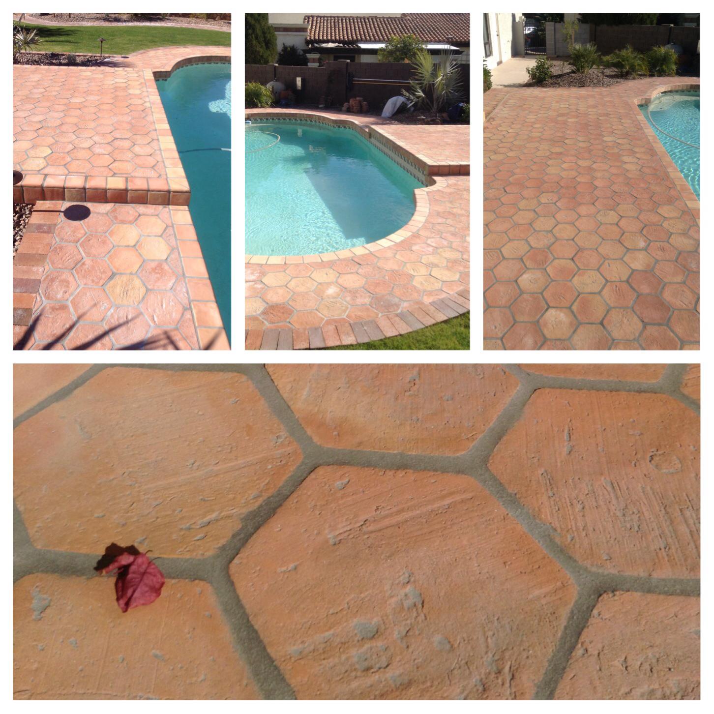 8 Terracotta Floor Tiles in Pakistan Pak Clay Hexagon Floor Tiles Design and Price in Pakistan.