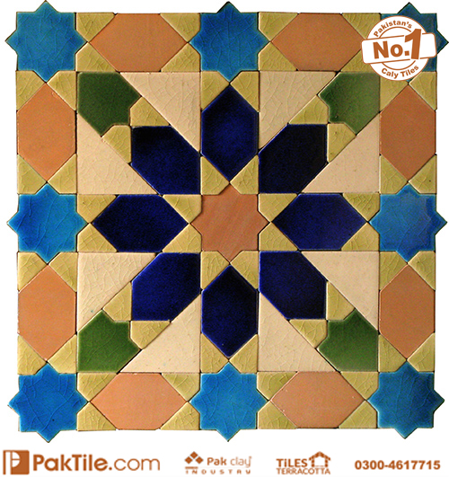 Green Color Geometric Shape Tiles Prices Multicolor Blue Green and Pink Images Pakistan