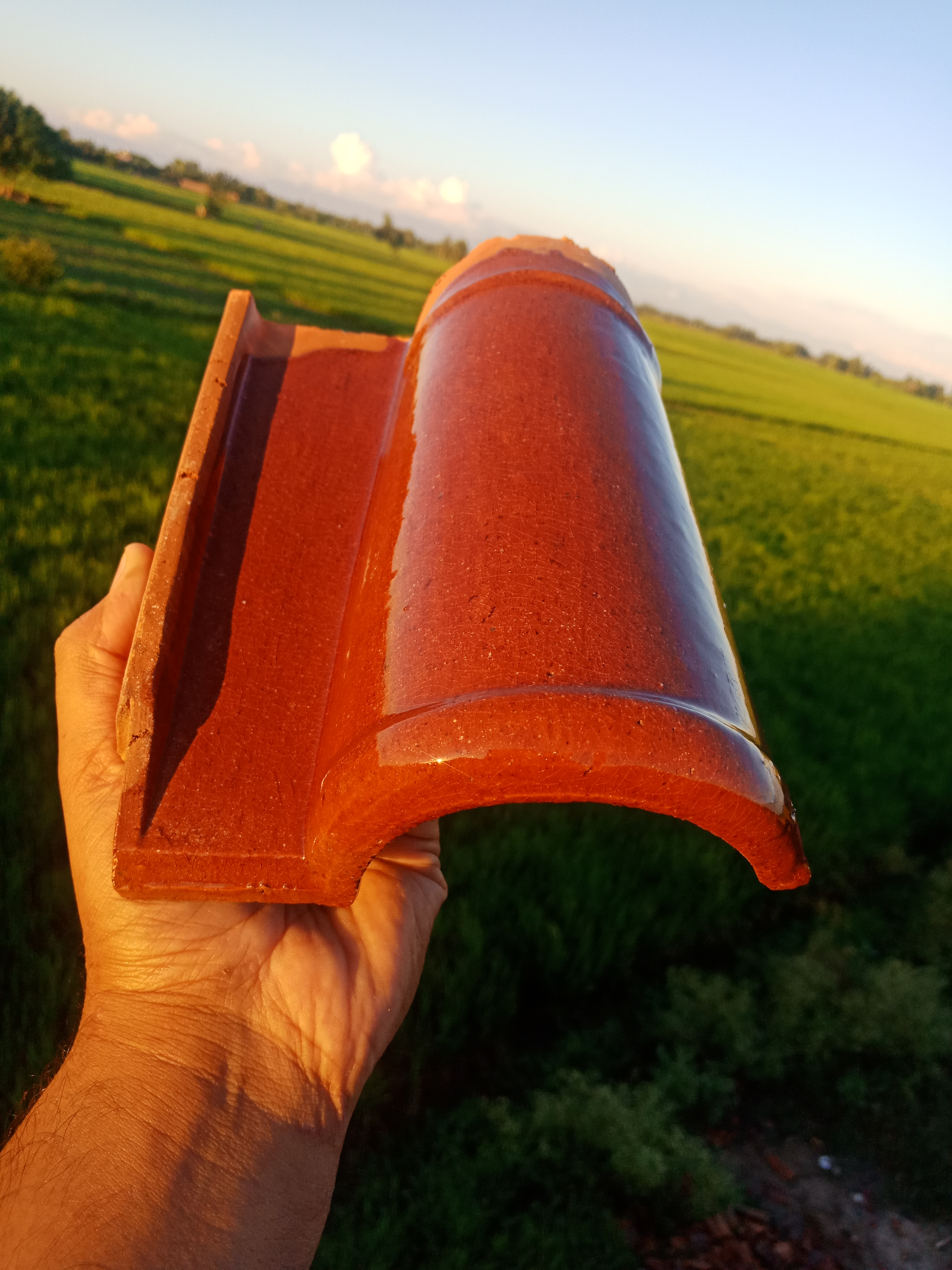 1 Pak Clay Industry Terracotta Tiles Spanish Roof Tiles 9 Roofing Tiles Images.