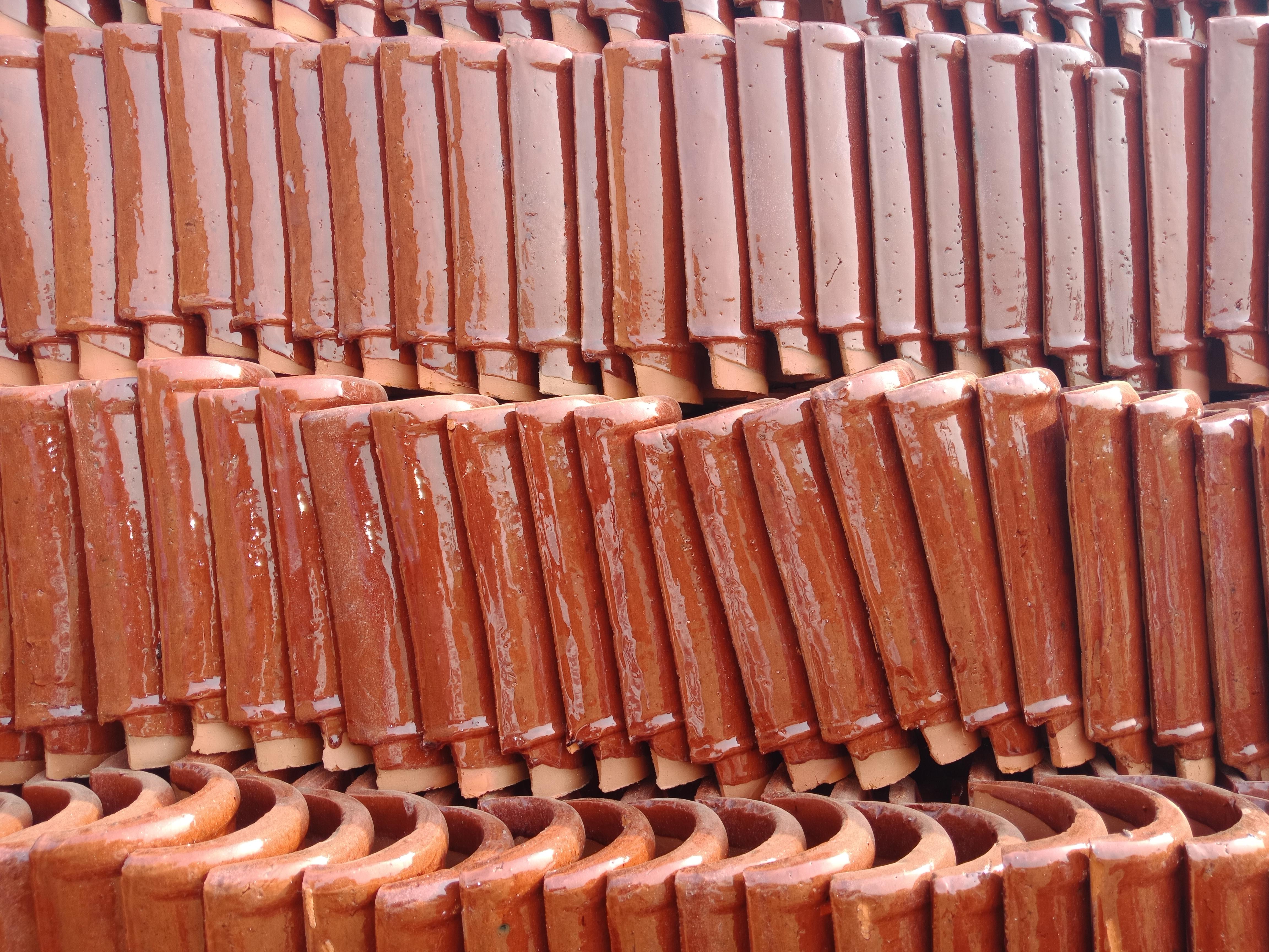 1 Pak Clay Khaprail Tiles Manufacturer in Pakistan Terracotta Roof Tiles Design Images.