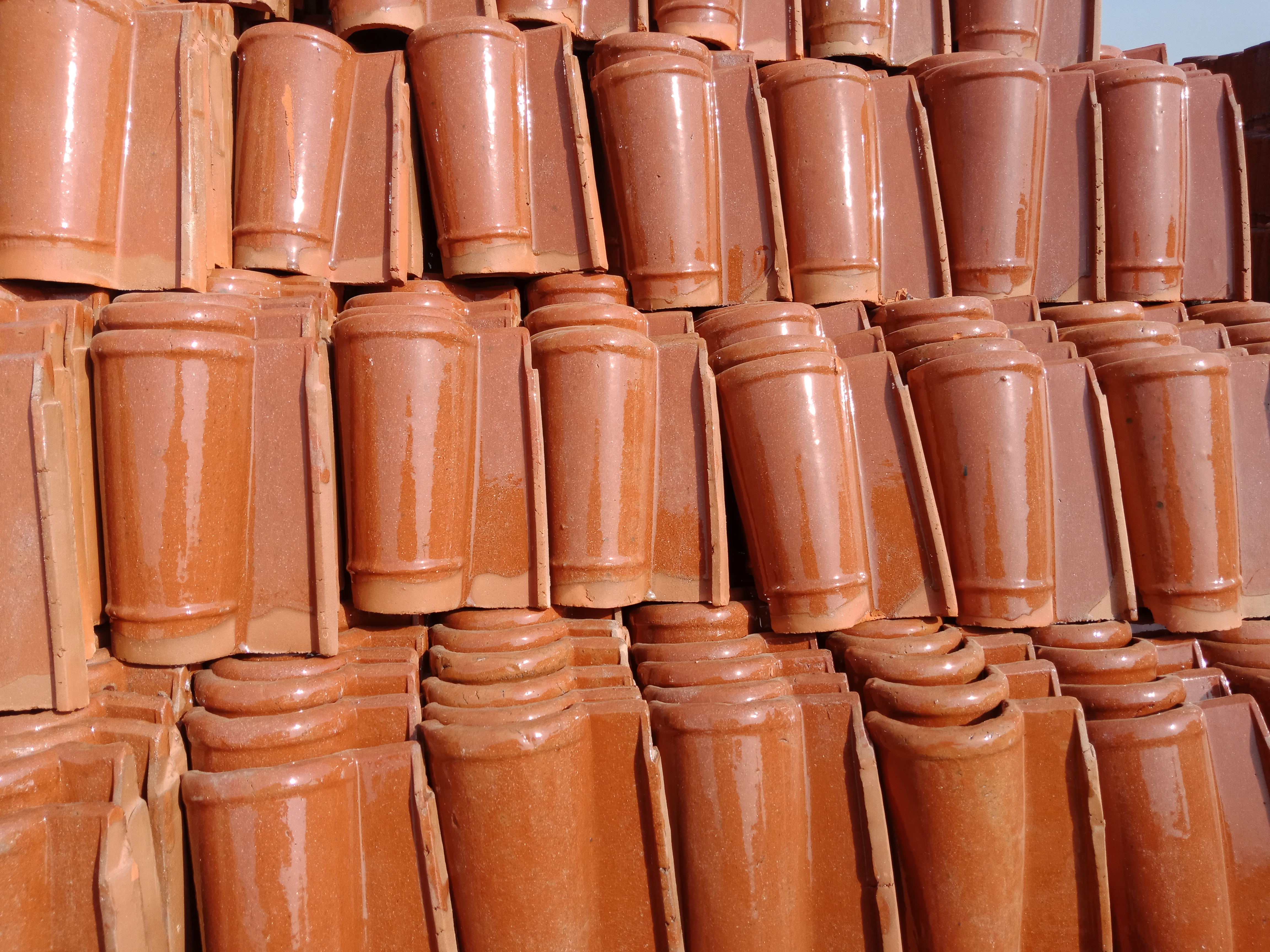 1 Terracotta Glazed Roofing Tiles Khaprail Tiles Rates in Pakistan Images.