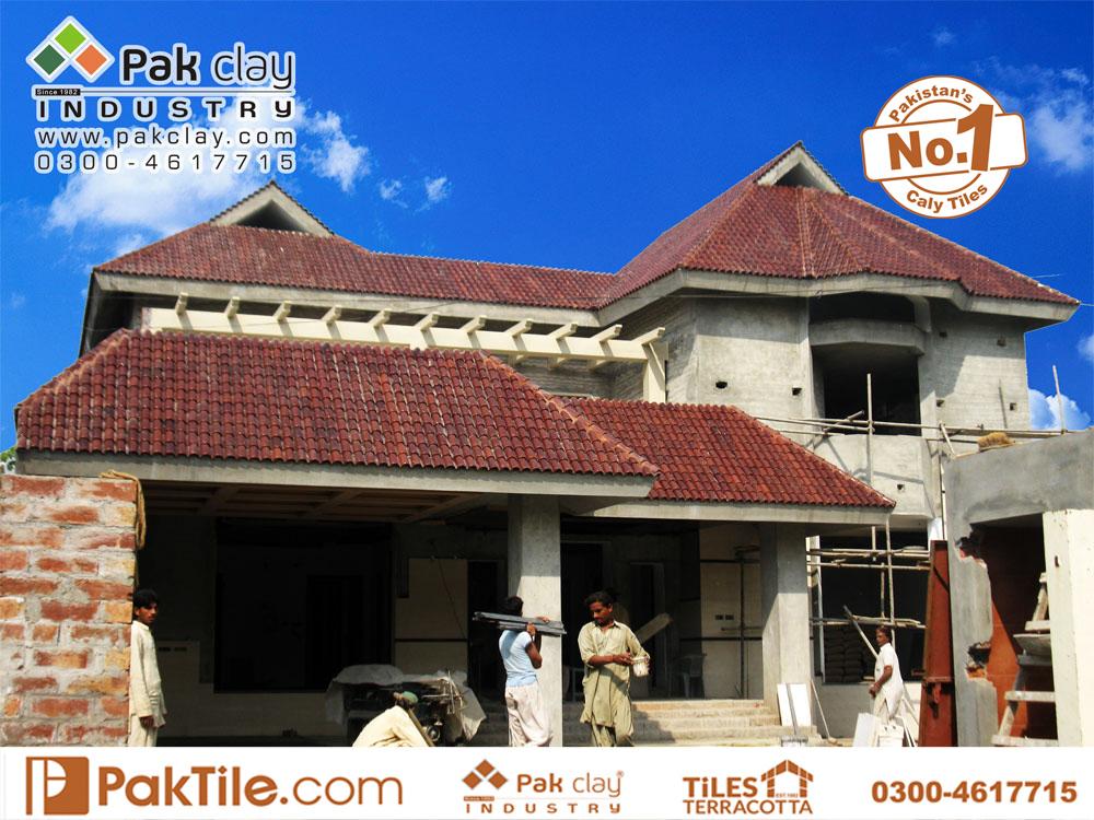 10 Pak Clay Industry Glazed Khaprail Tiles Design Spanish Roof Tiles 9 Roofing Tiles Images.