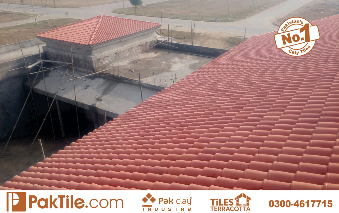 10 Pak Clay Industry Terracotta Roof Tiles Design Khaprail Price in Pakistan.