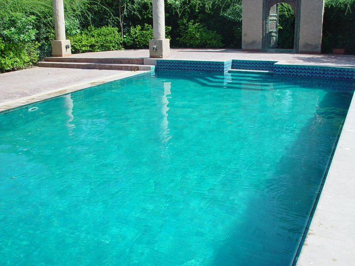 10 Pak Clay Stair Tiles Sky Blue Inside Swimming Pool Ceramic Tiles Price in Pakistan Images.