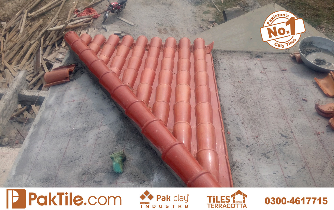 11 Pak Clay Tiles How to Install Clay Roof Tile Khaprail Tiles Manufacturer.