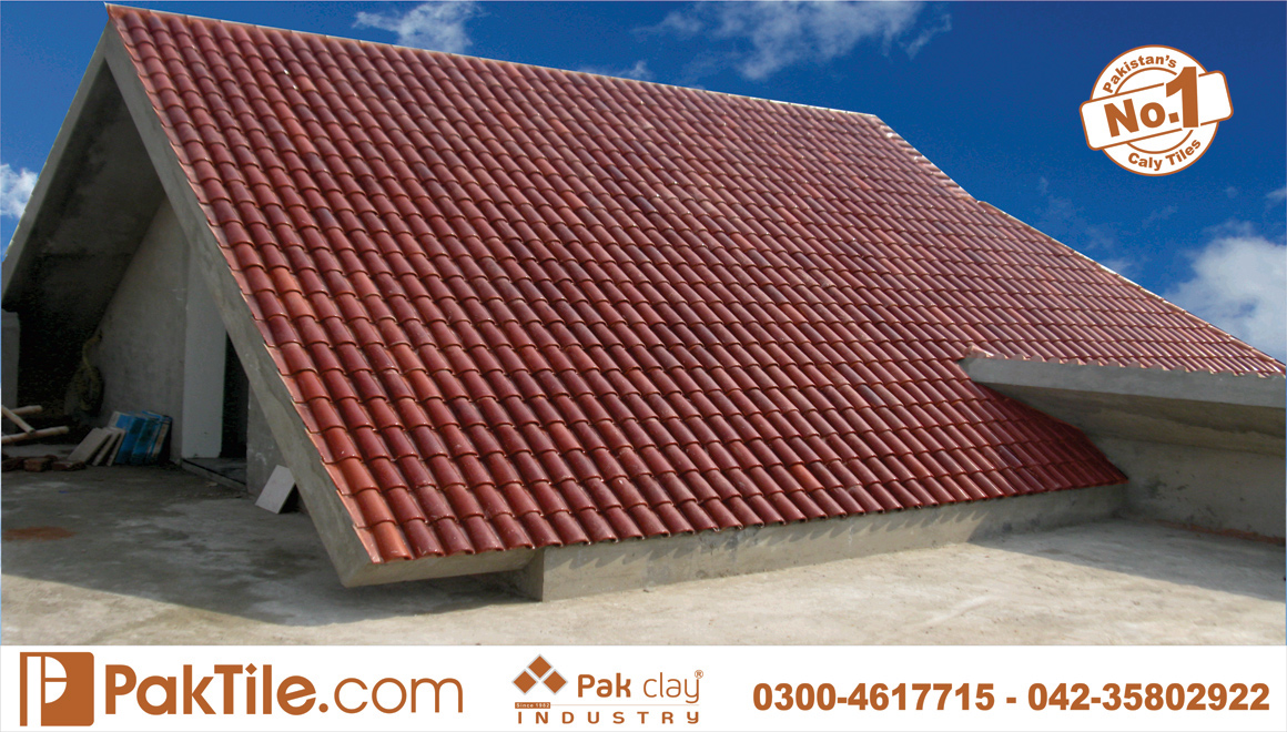 15 Pak Clay Industry Clay Roof Tiles Spanish Khaprail Roof Tiles 9 Roofing Tiles Images.