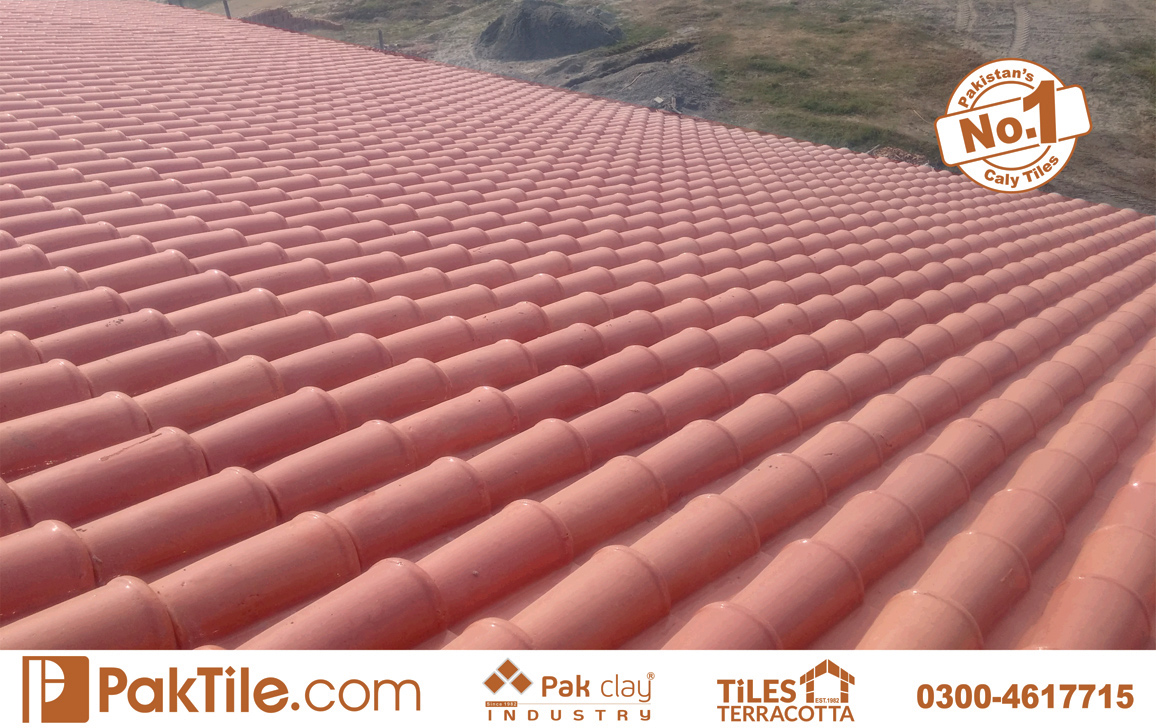 15 Pak Clay Tiles Pakistan Red Terracotta Brick Roof Tiles Designs Images.