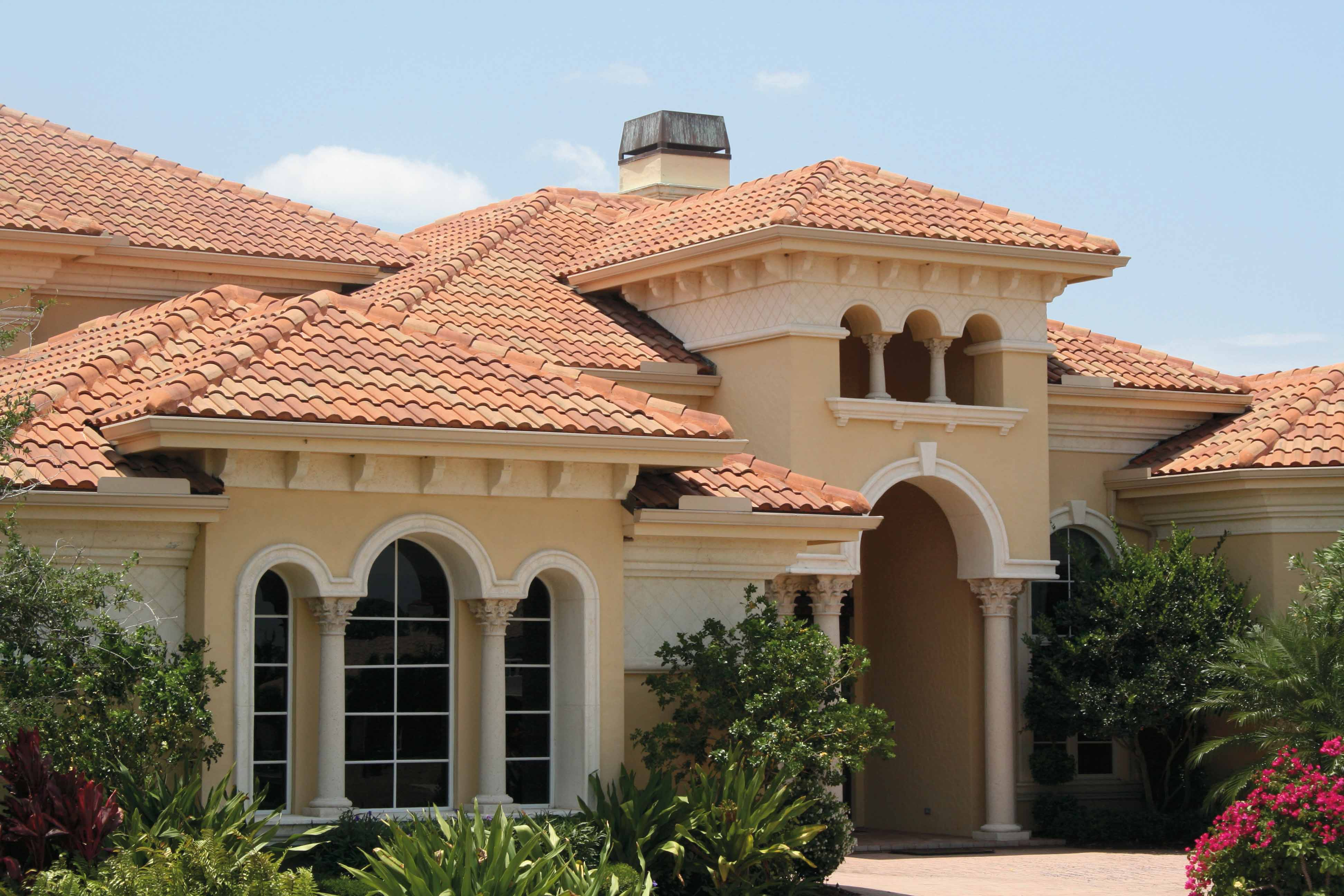 2 Clay Tiles Pakistan Spanish Roof Tiles Ceramic Roofing Tiles Khaprail Tiles in Lahore.