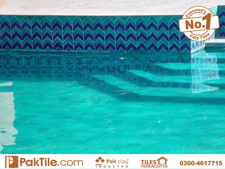 2 Swimming Pool Tiles Handmade Ceramic Floor Tiles in Pakistan