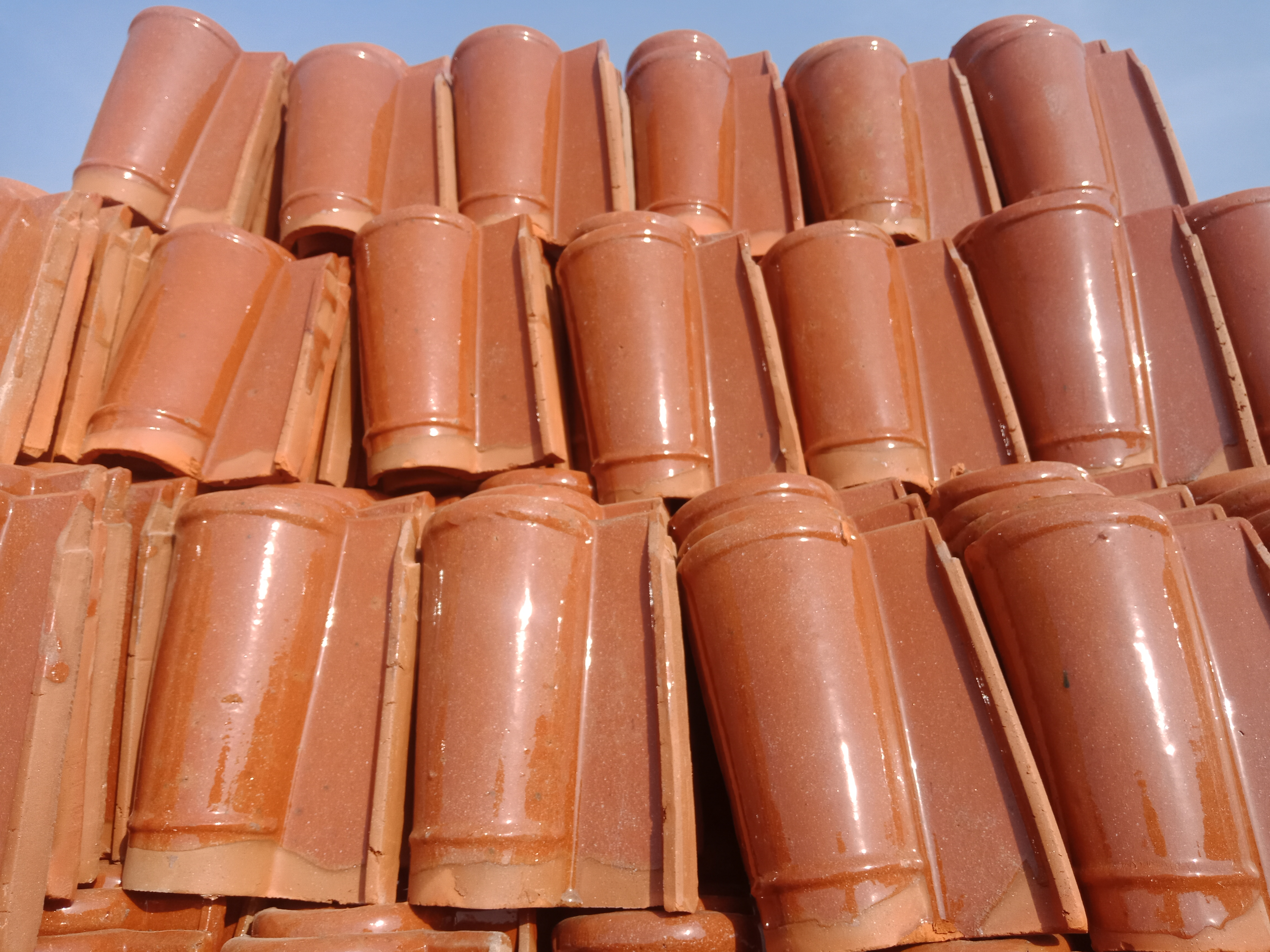 3 Glazed Terracotta Roofing Tiles Roof Shingles Tiles Rates in Pakistan Images.