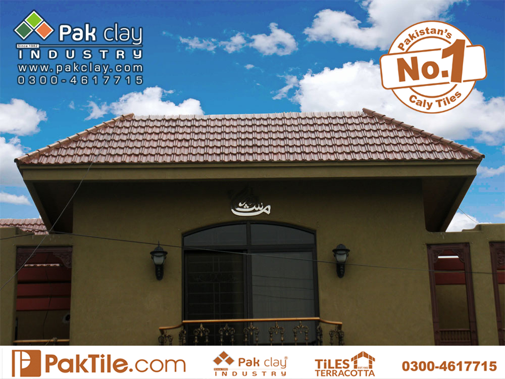 4 Disco Tile Glazed Khaprail Tiles in Pakistan Terracotta Roof Tiles Rates Images.