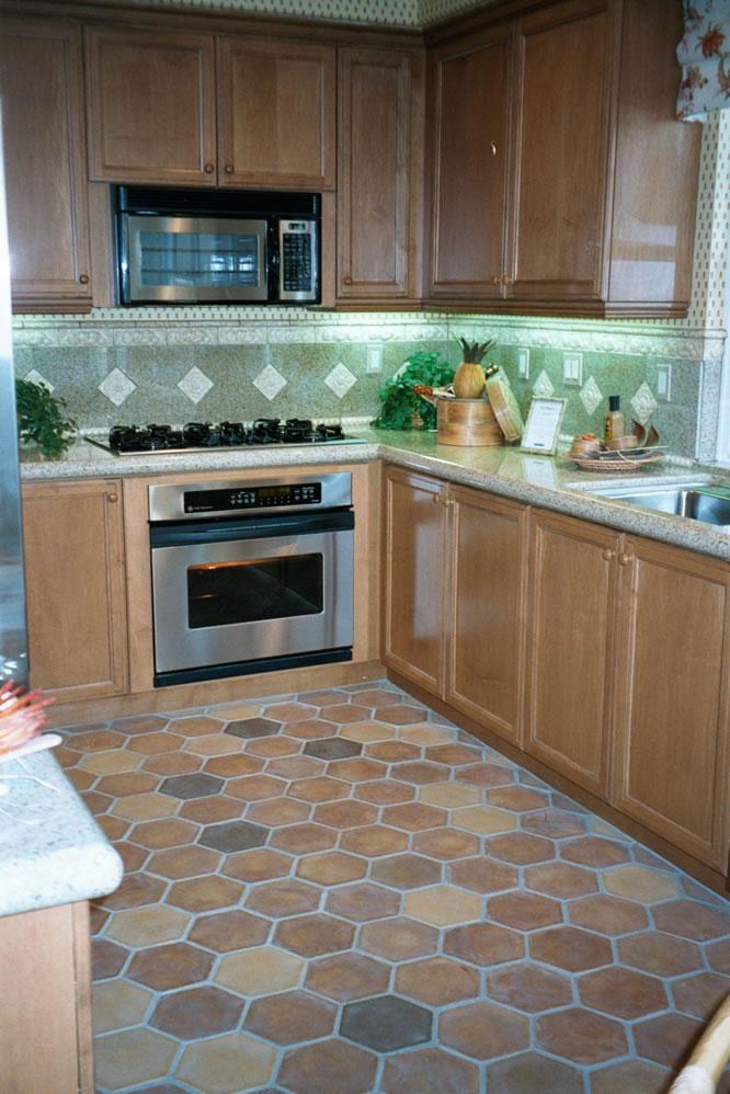 4 Hexagon Kitchen Floor Tiles in Pakistan Clay Flooring Tiles Textures Images.