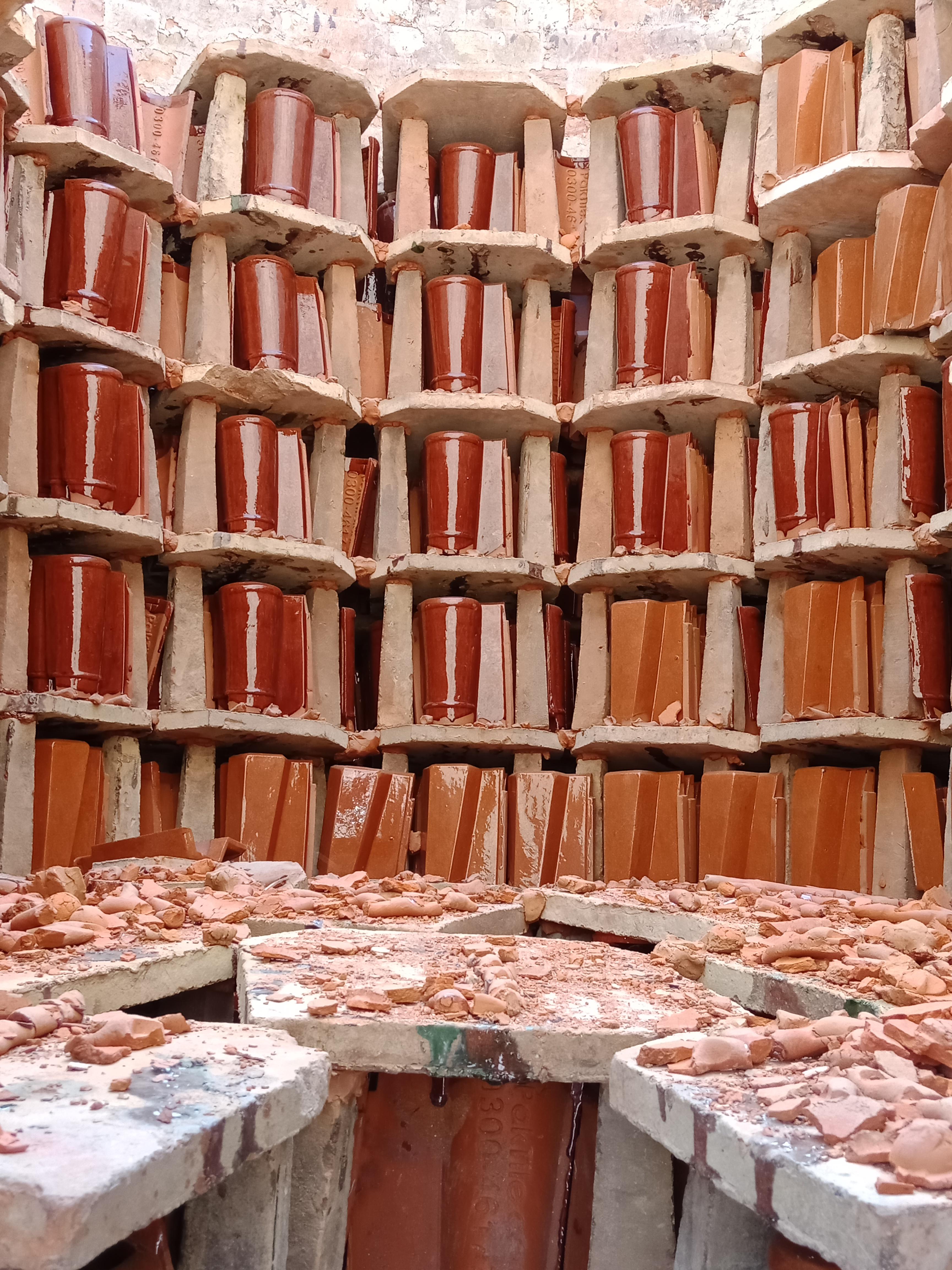 4 Khaprail Tiles Manufacturer Khaprail Tiles in Pakistan Clay Tiles Lahore Images.