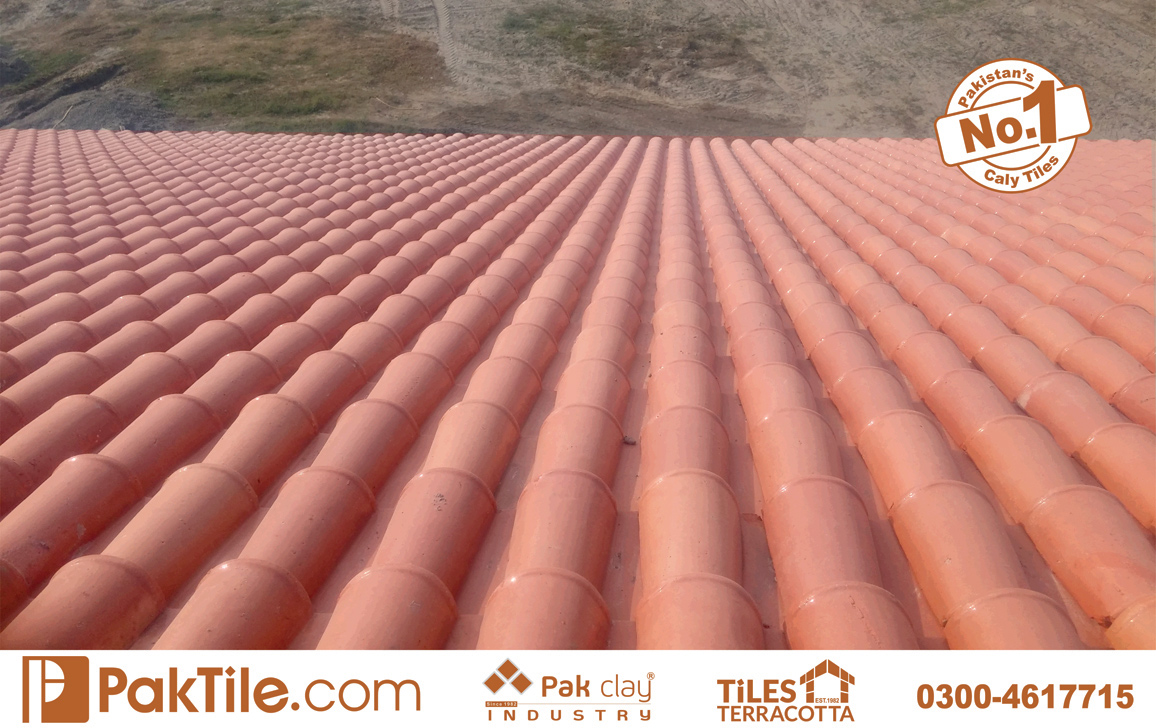 4 Pak Clay Terracotta Roof Tiles Design Khaprail Tiles Price in Pakistan Images.