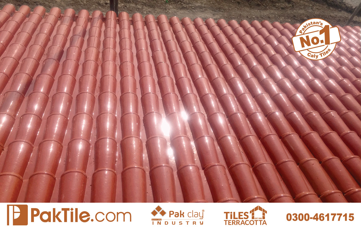 5 Pak Clay Glazed Roofing Tiles Textures Khaprail Price in Pakistan Images.
