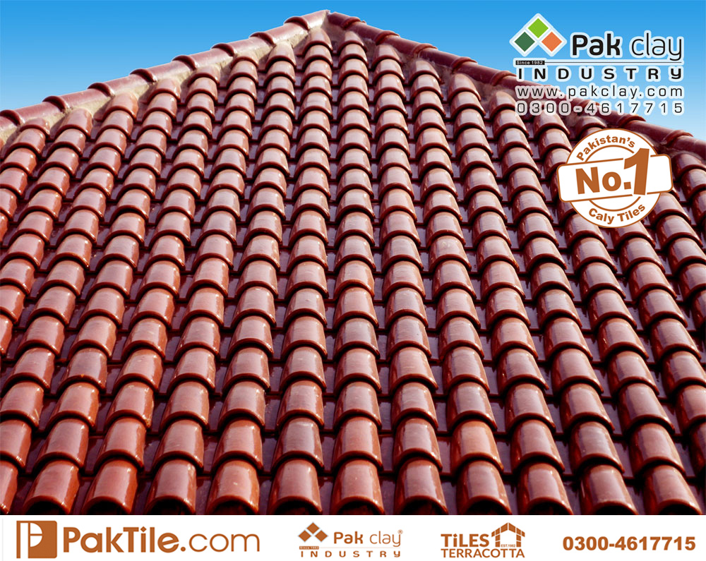 5 Pak Clay Industry Glazed Khaprail Tiles Spanish Roof Tiles 9 Roofing Materials Images.