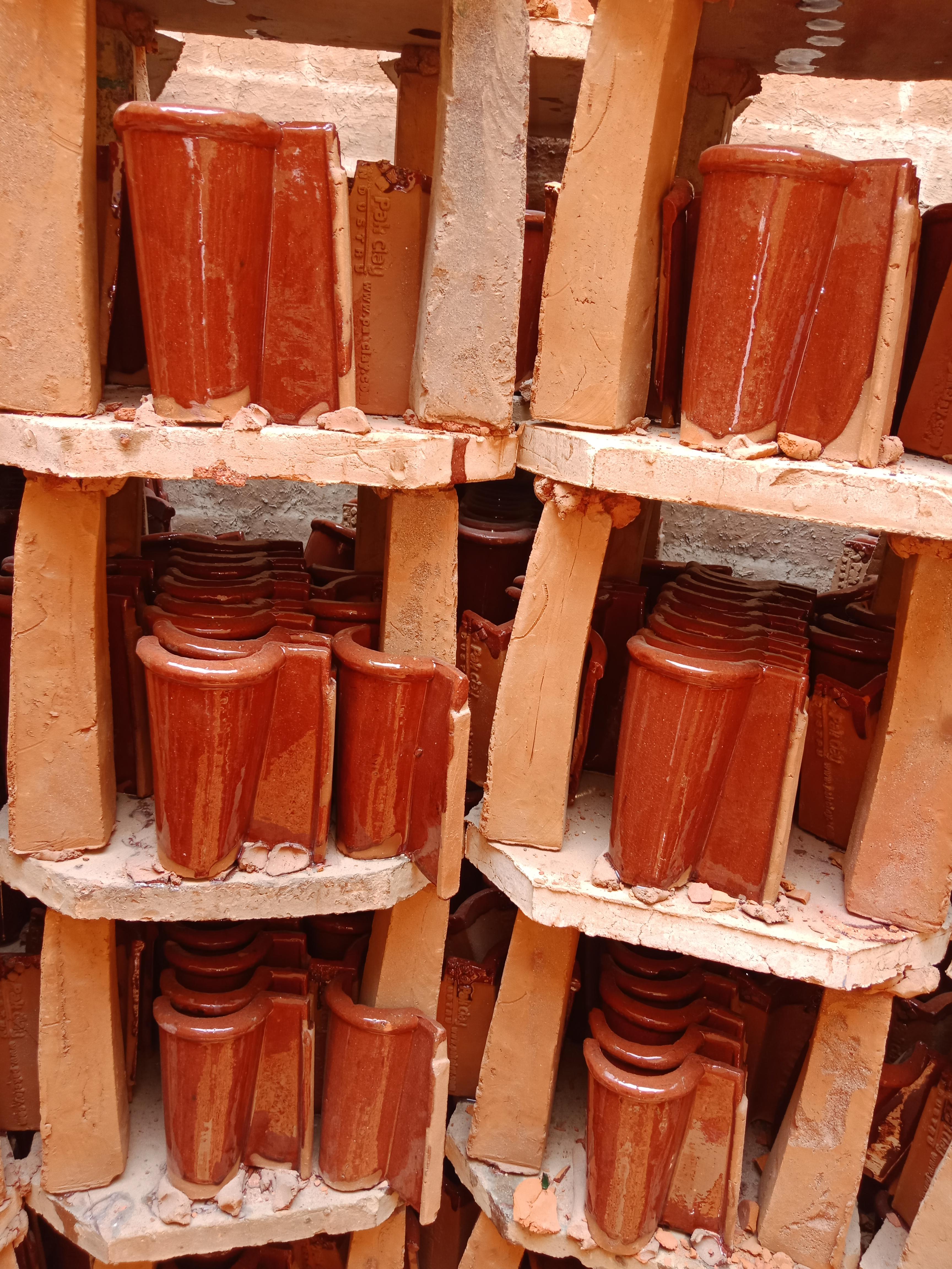 6 Khaprail Tiles Manufacturers Khaprail Tiles in Karachi Clay Tiles Pakistan Images.