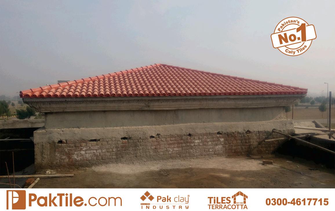 8 Terracotta Roofing Tile Khaprail Tiles in Karachi Best Roofing Materials.