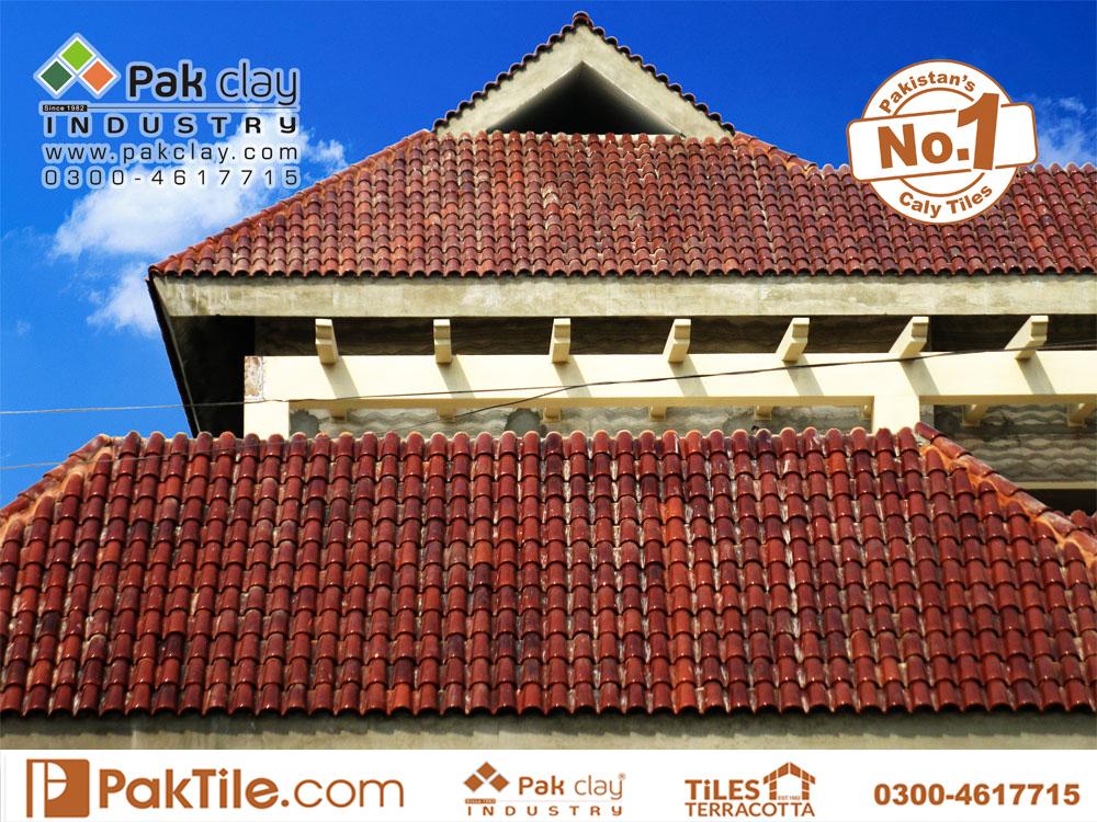 9 Terracotta Tiles Spanish Glazed Roofing Tiles 9 Khaparil Roofing Tiles Images in Pakistan.