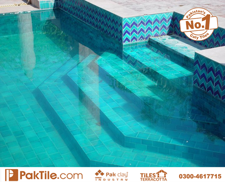 Pool Tiles Design in Pakistan Available Size 2x2 inch 3x3 4x4 6x6 inch