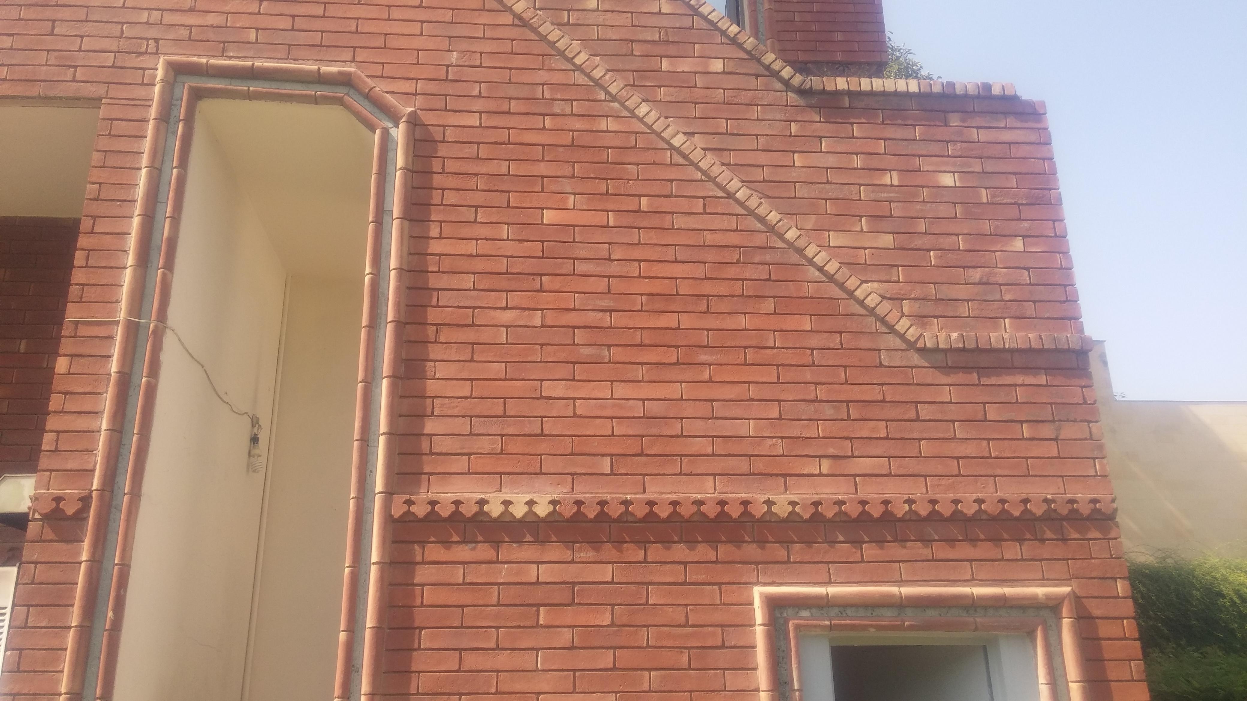 Red Bricks Gutka Tiles Texture (10)