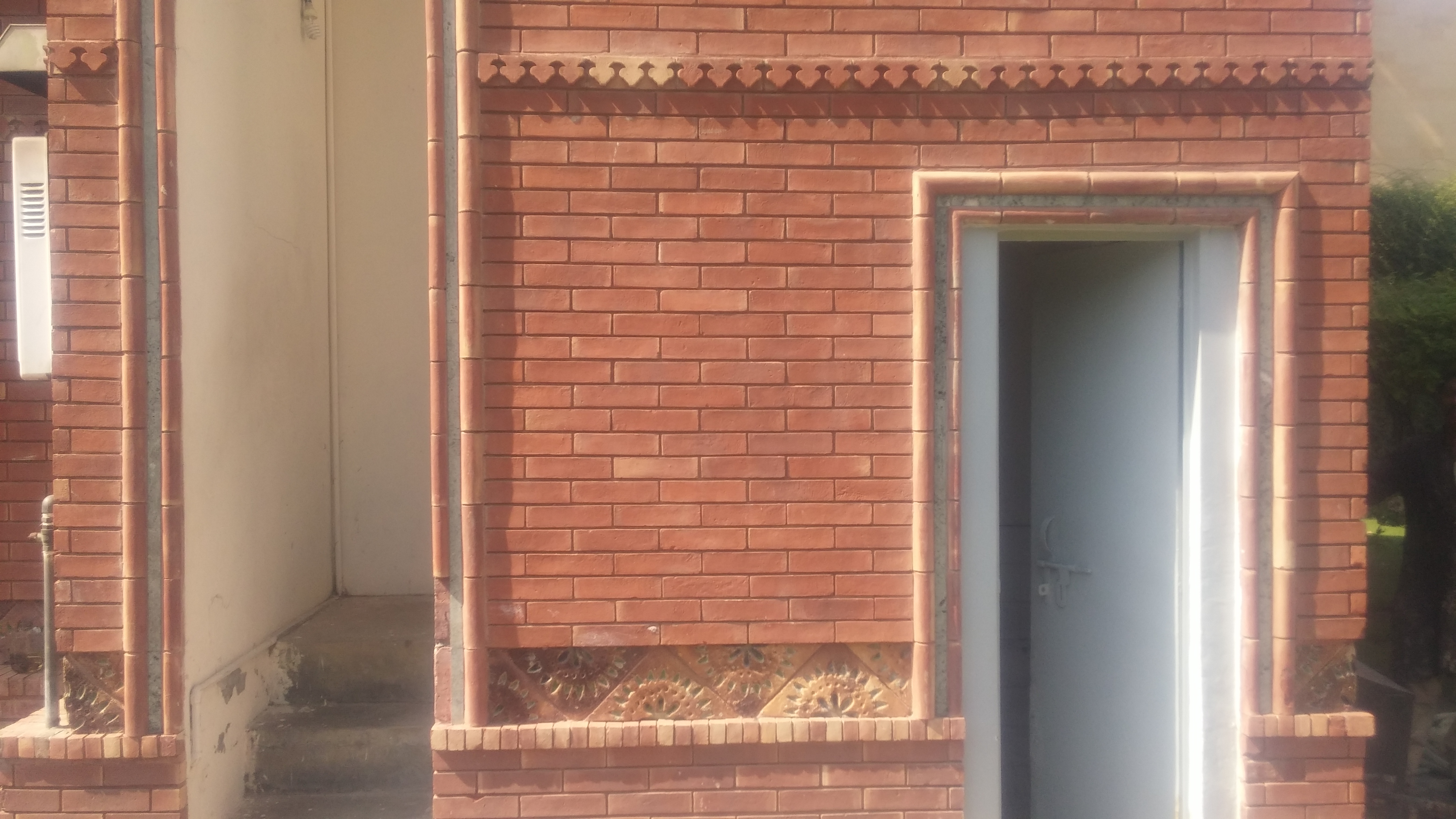 Red Bricks Gutka Tiles Texture (9)