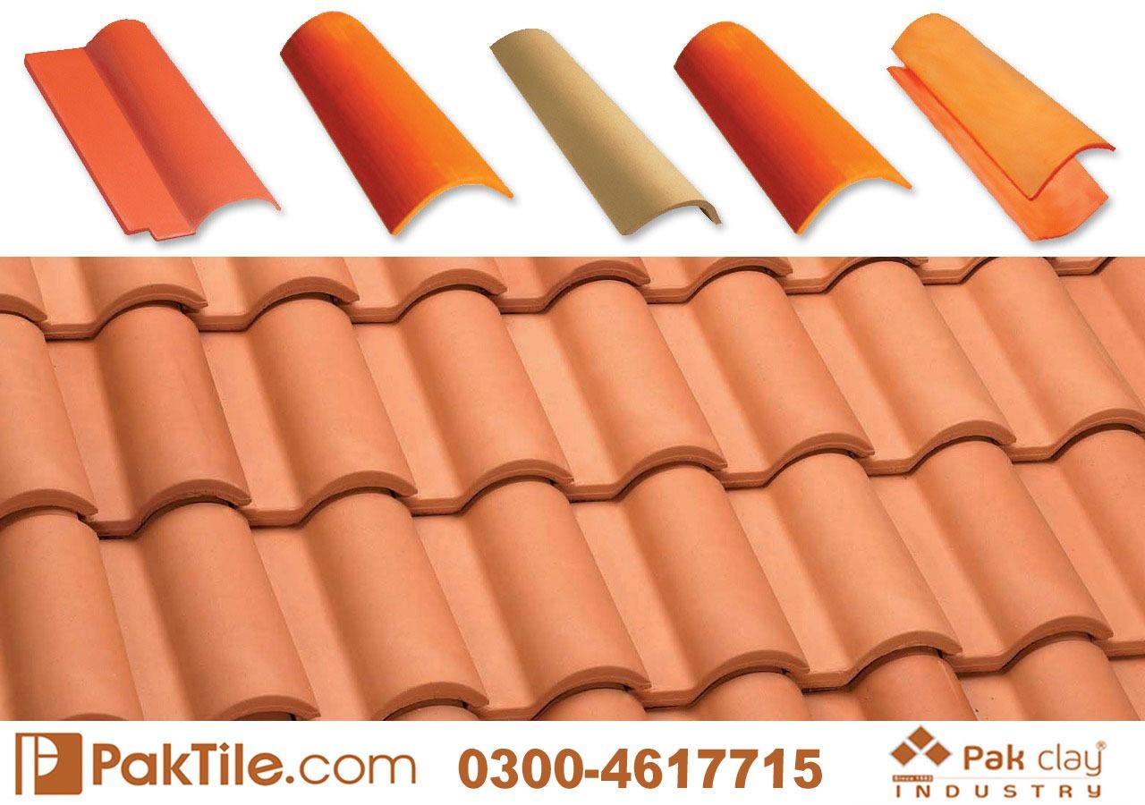 Terracotta Roof Tiles