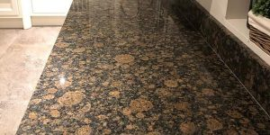 Kitchen Countertop Slab Baltic Brown Granite Tiles in Lahore