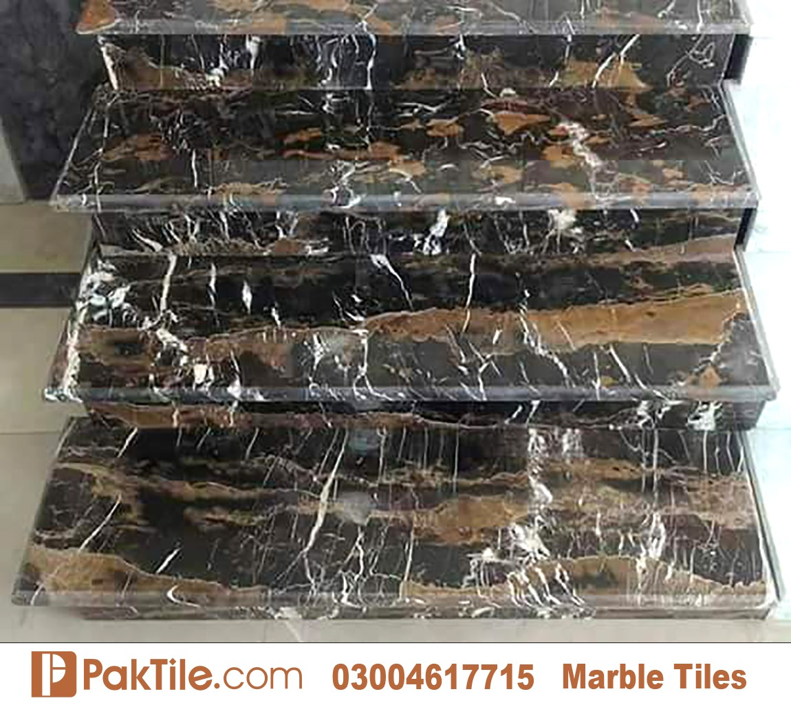 Marble Tiles in Islamabad Colours Black Gold and White