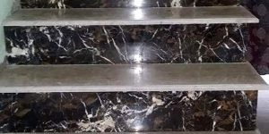 Marble Tiles in Lahore Colours Black Gold and White