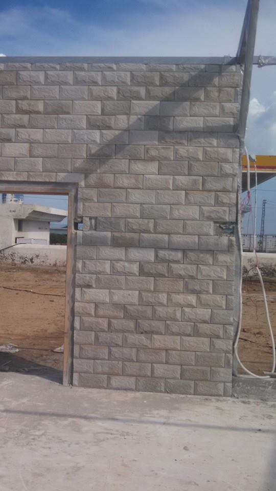Exterior wall face tile design prices in pakistan