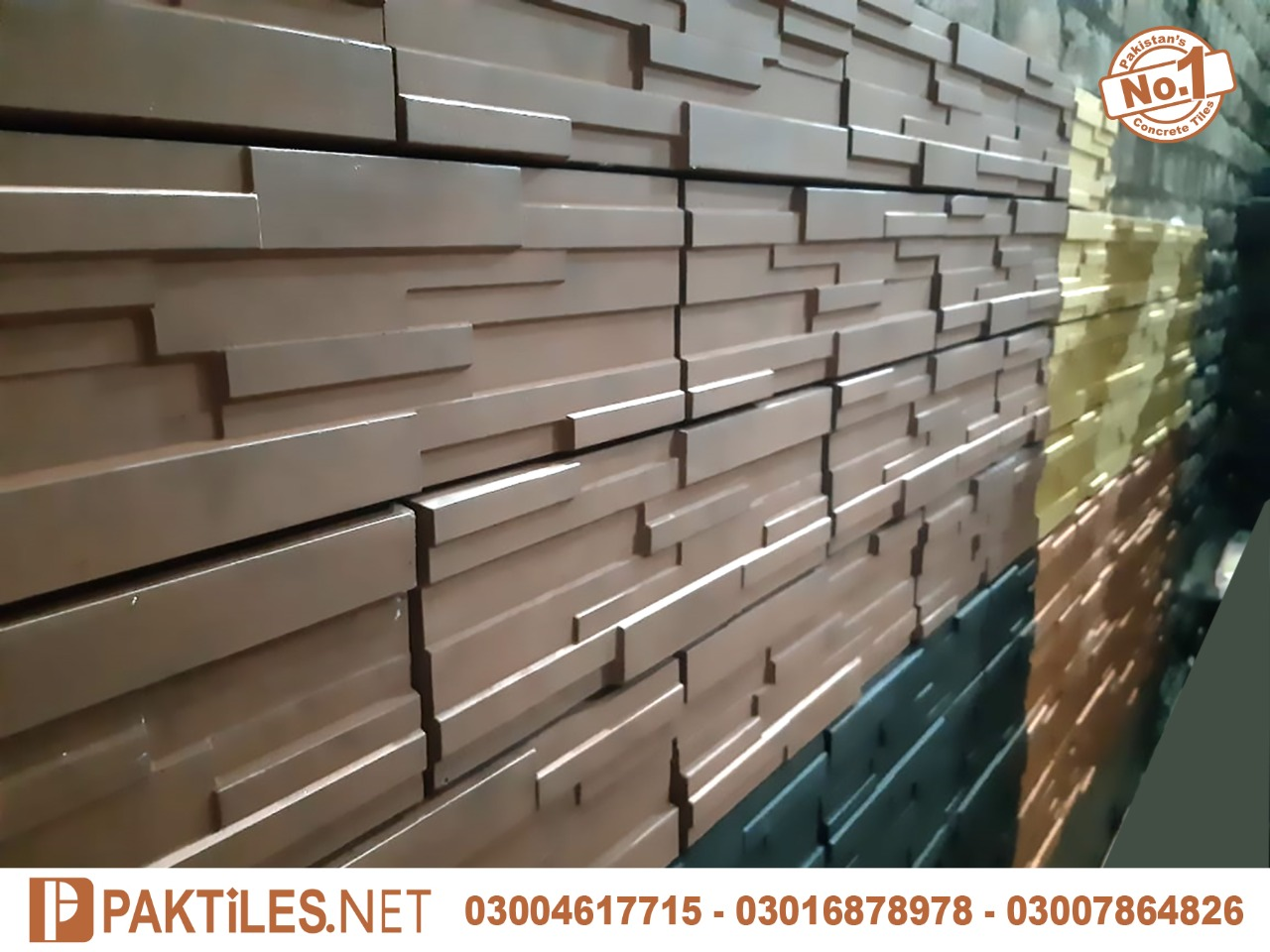 House front elevation exterior wall tiles design in pakistan