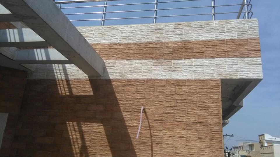 wood veneer wall tiles face tile design in pakistan